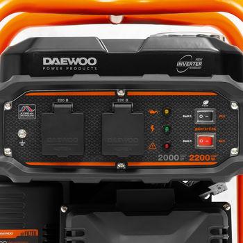 купить Генератор бензиновый инверторный Daewoo  GDA 2600i в Кишинёве