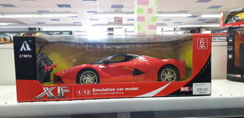 Машина 1:12 на радиоуправлении XF, код 20010