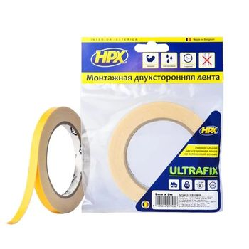 HPX ULTRAFIX Двухсторонняя вспененная лента 1 мм
