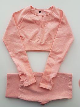 Костюм для йоги  с шортами размер S