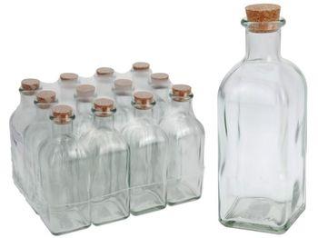 """Бутылка """"штоф"""" 500ml, H20cm, с крышкой"""