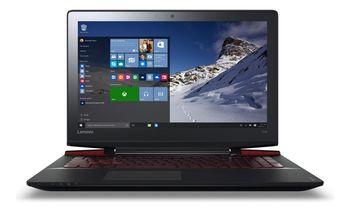 """Lenovo IdeaPad Y700-17ISK Black 17.3"""" IPS FullHD (Intel® Quad Core™ i7-6700HQ 2.60-3.50GHz (Skylake), 8Gb DDR4, 1.0TB HDD/128Gb SSD, NVIDIA® GeForce® GTX960M 4Gb, ext.DVDRW, CR, WiFi-N/BT4.0, 4cell, HD720p Webcam, Backlit KB, RUS, W10H-HE, 2.7kg)"""