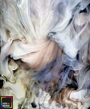 Картина напечатанная на холсте Абстракция 0010