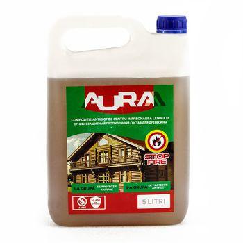 Supraten Огнебиозащитная пропитка Aur-M Бесцветная 5кг