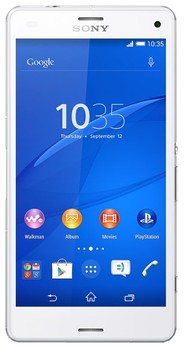 Sony Xperia Z3 (D6653) White 16GB