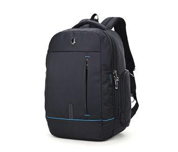 """купить Pюкзак kлассический Arctic Hunter 1500161 для ноутбука до 15,6"""",с отверстием для наушников, водонепроницаемый, черный в Кишинёве"""