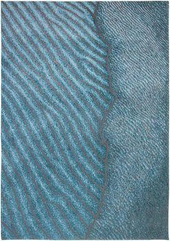 Авторские ковры ручной работы WAVES 9132  Shores  Blue Nile Rugs