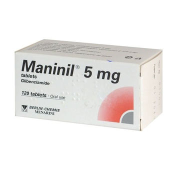 cumpără Maninil 5mg comp. N120 în Chișinău