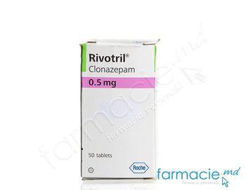 "купить ""Rivotril """"Roche"""" comp. 0,5 mg N50~"" в Кишинёве"