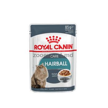 купить Royal Canin HAIRBALL CARE (В СОУСЕ) 85 gr в Кишинёве