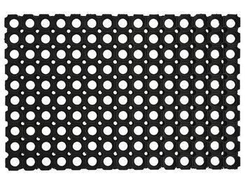 Коврик придверный резиновый 40X80cm резной, толщина 1.6cm