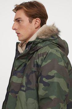 Куртка H&M Камуфляж