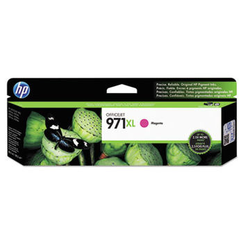 HP 971XL High Yield Magenta Original Ink Cartridge, up to 6600 pages