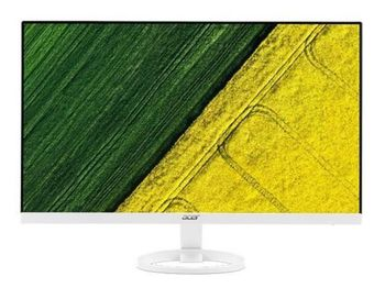 "27.0"" ACER IPS LED R271W ZeroFrame White (4ms, 100M:1, 250cd, 1920x1080, 178°/178°, VGA, DVI, HDMI, Speakers 2 x 2W, Audio Line-out) [UM.HR1EE.005]"