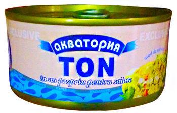 """купить Тунец в собственном соку """"Акватория"""" 185гр. в Кишинёве"""