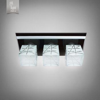 купить N&B Light Люстра Пиастра 10133-3 черный глянец/белый глянец в Кишинёве