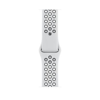 Apple Watch 6 44mm (MG293), Silver / Pure Platinum Black