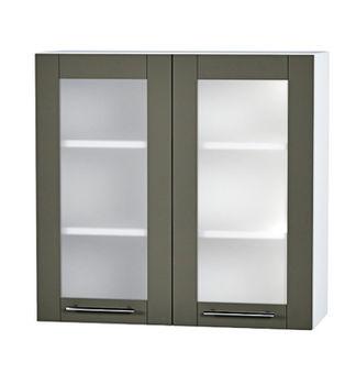 ШКВ с двумя стеклянными дверьми, 800 мм
