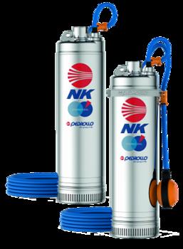 купить Скважинный глубинный насос многолопастный Pedrollo NKm4/4 1.5 кВт до 72 м в Кишинёве