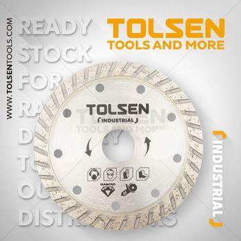 купить Диск алмазный сплошной  Turbo 125*22.2MM Tolsen в Кишинёве