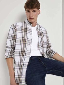 Рубашка TOM TAILOR В клетку 1024212 tom tailor