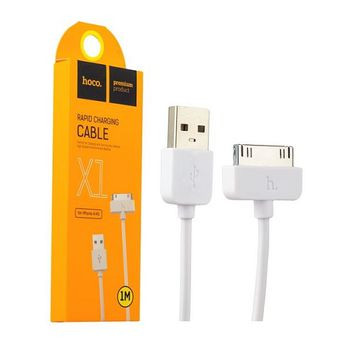 купить Hoco X1 Rapid Charging for iPhone 30pin 1.0m (white) в Кишинёве