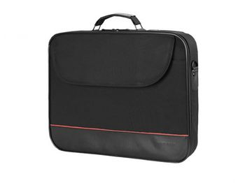 "Continent Notebook Case 15.6"" CC-100 Black, Clamshell"