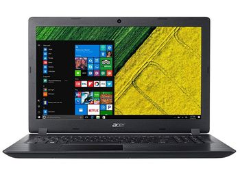 "ACER Aspire A315-31 Obsidian Black (NX.GNTEU.009) 15.6"" HD (Intel® Pentium® Quad Core N4200 up to 2.50GHz (Apollo Lake), 4Gb DDR3 RAM, 500GB HDD, Intel® HD Graphics 505, w/o DVD, WiFi-AC/BT, 2cell, 0.3MP CrystalEye webcam, RUS, Linux, 2.1kg)"
