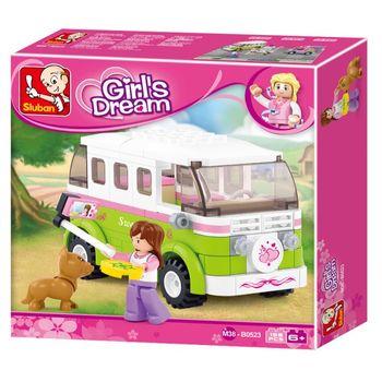 cumpără Sluban Girls Dream Constructor  touring wagon în Chișinău