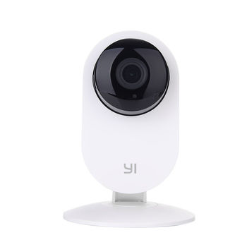 Xiaomi YI Home Camera EU, White, IP Camera, WiFi, Video resolution: 720p, 111° wide-angle lens, Built-in Microphone and Speaker (2-way audio connection), Infrared Night Vision Sensor, MicroSD up to 32GB, Andoid/iOS