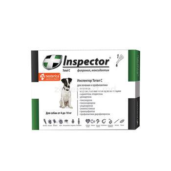 купить Инспектор Тотал С капли для собак 4-10 кг в Кишинёве