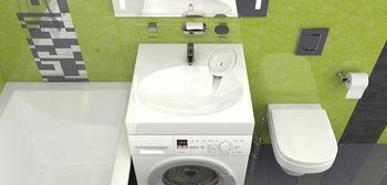 купить Раковины над стиральными машинами V055D1 в Кишинёве