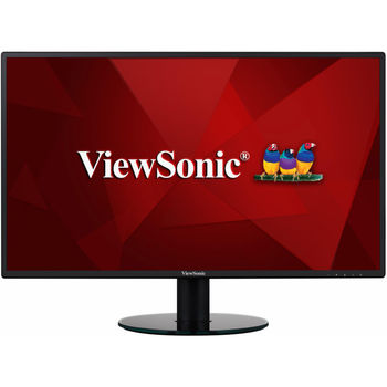 "27.0"" VIEWSONIC IPS LED VA2719-SH Black (5ms, 50M:1, 300cd, 1920x1080, 178°/178°, SuperClear, VGA, HDMI, Audio Line-out, VESA)"