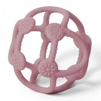 купить Грызунок силиконовый  Babyono ORTHO розовый в Кишинёве