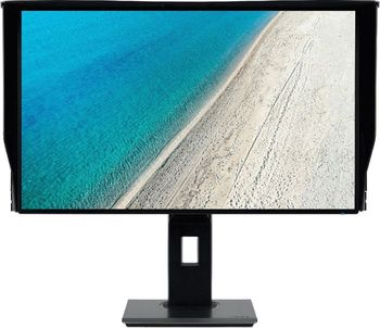 "31.5"" ACER IPS LED PE320QK Professional 4K Black (4ms, 100M:1, 330cd, 3840x2160, HDMI, DisplayPort, HDR, Speakers 2 x 2W, USB Hub: 5 x USB3.1, Audio Line-out, Height Adjustable, VESA) [UM.JP0EE.001]"