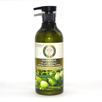 купить Шампунь Plant Natural Olive Wokali 550мл в Кишинёве