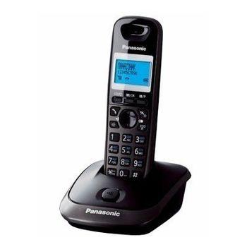 Telephone Dect Panasonic KX-TG2511UAT, Titanium, AOH, Caller ID, LCD, Sp-phone (журнал на 50 вызовов), спикерфон на трубке, телефонный справочник (50 записей), полифонические мелодии звонка, кириллица на дисплее, время/дата на дисплее
