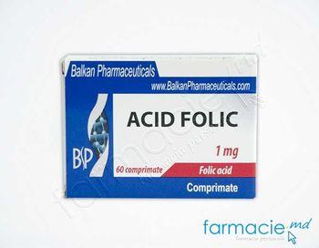 купить Acid folic comp.1 mg N20x3(Balkan) в Кишинёве
