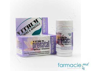купить Vitrum® Prenatal comp. N100 в Кишинёве