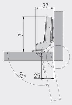 Balama încadrată cu amortizor GTV