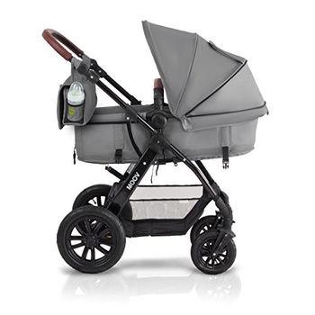купить Коляска 3 в 1 Kinderkraft Moov Grey в Кишинёве
