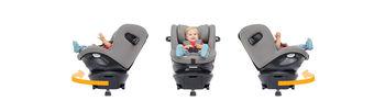 купить Поворотное автокресло с системой Isofix Joie Spin 360 (0-18 кг) Gray Flannel в Кишинёве