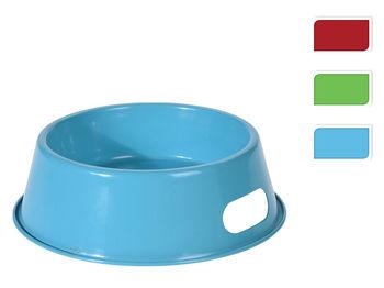 Миска для животных цветная 200ml, D18cm, H5.5cm, металл