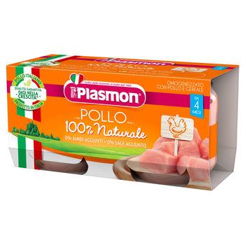 cumpără Plasmon Piure omogenizat din carne de pui, 4 luni, 2 buc, 80 gr în Chișinău