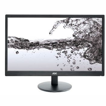 "21.5"" AOC LED E2270SWN Black (5ms, 20M:1, 200cd, 1920x1080, 90°/65° VGA, VESA)"