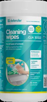 cumpără Defender Universal cleaning wipes, Tube 100 pcs. (CLN-30322) în Chișinău