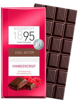 Темный шоколад с малиной Weinrichs 1895 100g
