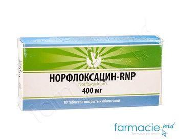 купить Норфлоксацин  400мг табл. N10 (RNP) в Кишинёве