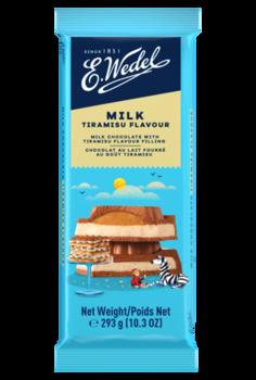 Молочный шоколад Wedel Tiramisu, 293г