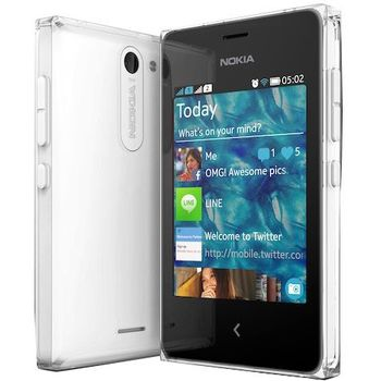 Nokia Asha 502 2 SIM (DUAL) White